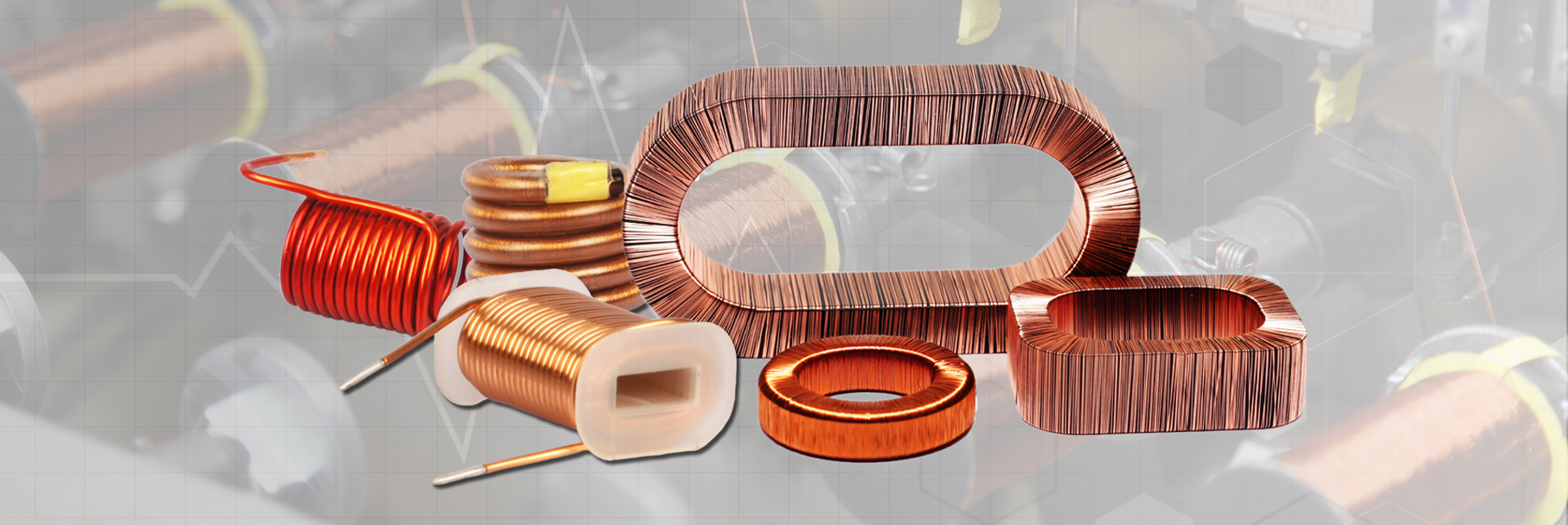 Gt Electronic India Coils Of Copper Wire Are Commonly Used In Electrical Inductors